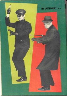 """Green Hornet"" with Bruce Lee as Kato and Van Williams as The Green Hornet"