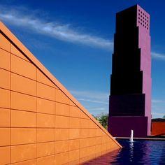 Latino Cultural Center, Designed by Architect Ricardo Legorreta, 2004