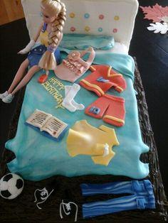 Ded cake  beatiful