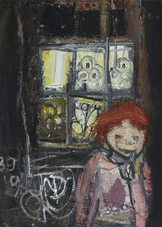 BBC Arts - BBC Arts - How the unflinching art of Joan Eardley captures Scotland at its rawest Chagall Paintings, Face Paintings, Popular Artists, Famous Artists, Gallery Of Modern Art, Glasgow School Of Art, Renaissance Art, Landscape Paintings, Abstract Paintings
