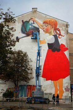 Natalia Rak New Mural