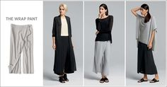 EILEEN FISHER Spring Icons Collection: The Wrap Pant