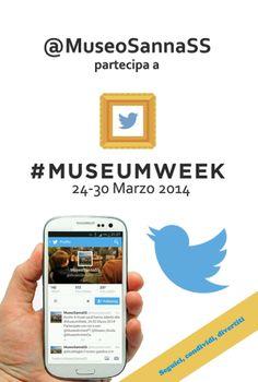 Locandina #MuseumWeek 2014 @MuseoSannaSS