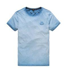 951f96626af8d8 PME Legend T-shirts Ptss178531 Lichtblauw