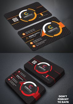Professional Business Card Design, Business Card Psd, Minimalist Business Cards, Modern Business Cards, Corporate Identity, Identity Branding, Corporate Design, Visual Identity, Flyer Design