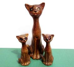 Vintage Cat Figurines