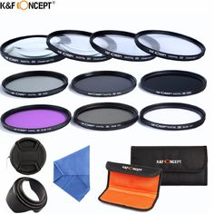 33.84$  Buy now - http://alir3q.shopchina.info/go.php?t=32440297953 - K&F CONCEPT 58mm Macro Close-up+1+2+4+10 Set+UV CPL FLD ND 2 4 8 Camera Lens Filter Kit+Lens Hood+Lens Cap for Canon Rebel EOS  #SHOPPING