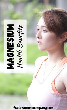 Magnesium health benefits and more! Magnesium is an essential mineral for good health and wellness. In this article you'll learn about the health benefits of magnesium, as well as some magnesium rich foods and magnesium deficiency symptoms. Discover the benefits of magnesium here! #magnesium #magnesiumbenefits  #magnesiumdeficiency Magnesium Foods, Magnesium Deficiency Symptoms, Magnesium Benefits, Health Benefits, Brain Nutrition, Brain Health, Health And Beauty, Health And Wellness, Bone Health