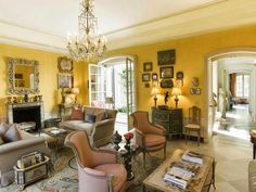Featured in The World of Interiors magazine, the townhouse, designed in the neo French classic style evoking the charm of the French countryside, reflected the passions of its owners.