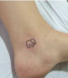 Adorable Tiny Elephant Tattoo small baby elephant ankle tattoo tiny--i would like this with his trunk up.small baby elephant ankle tattoo tiny--i would like this with his trunk up. Tiny Tattoos For Girls, Cute Tiny Tattoos, Mini Tattoos, Beautiful Tattoos, Body Art Tattoos, Tatoos, Head Tattoos, Flower Tattoos, Small Ankle Tattoos