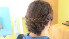 medium length braide up do  RULeR Hair Dressing  makoto ishii