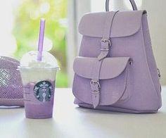 #purple #cute #girly #starbucks