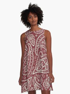Paisley White Maroon Design by Freepik • Also buy this artwork on apparel, stickers, phone cases, and more.
