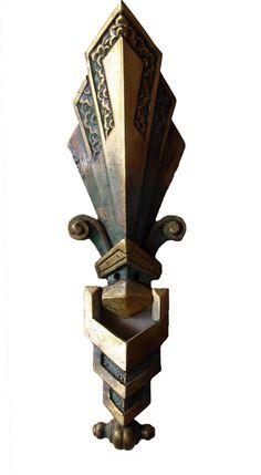 www.fabbricreations.com - Art Deco Door Knockers - 125, $80.00 (http://www.fabbricreations.com/art-deco-door-knockers-125/)