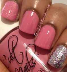 Cult Nails - Kiss My Rosé Bush and Neener Neener Nails Simply Pink