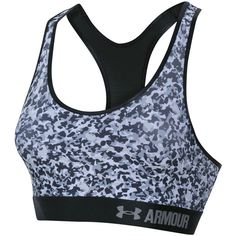 474ef693f9240 Under Armour provides quality performance apparel. This UA camo print  sports bra is designed for mid impact activities. This bra features a  HeatGear ...