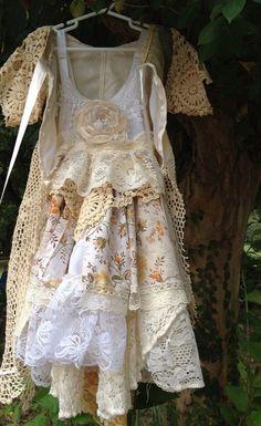 Gypsy Fairy Clothing | Woodland Fairy Dress//BOHO/Gypsy/Girls Dress//Free the by RainRene, $ ...
