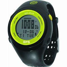 Soleus GPS FIT 1.0 Running Watch, Bla...
