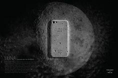 Luna skin for iPhone5 on Behance