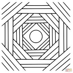 geometric coloring page cubicle from geometrycoloringpagescom adult coloring pages pinterest cubicle - Geometric Coloring Pages For Adults