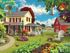 'Green Acres' by Alan Giana