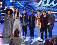 'American Idol' recap: The Top 10 whittled down to. 'American Idol' recap: The Top 10 whittled down to… Fox Series, Moisturizer For Dry Skin, Kelly Clarkson, Hollywood Life, Whittling, American Idol, Reality Tv, Face And Body, Tv Shows