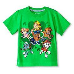 Toddler Boys' St. Patrick's Day Paw Patrol Tee Shirt