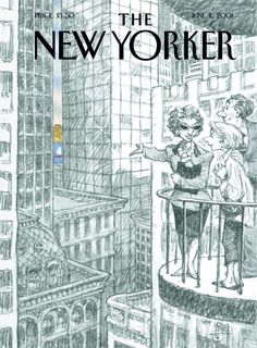 Peter De Seve is awesome. this illustration is a completely accurate portrayal of real estate in NYC btw.