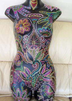 Torso Painting - Shamoney by Vijay Sharon Govender Mannequin Art, Dress Form Mannequin, Mosaic Projects, Mosaic Ideas, Mosaic Patterns, Mardi Gras Beads, Art Vintage, Mosaic Art, Mannequins