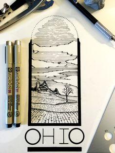 Daily Drawings by Derek Myers