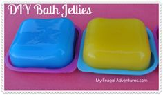 bath jellies? fun idea