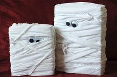 Mummy Boxes | cereal boxes-AllFreeHolidayCrafts.com