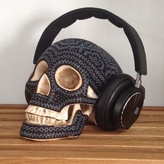 The most stylish way to store your BeoPlay H6  #bangolufsen #beoplay #headphones #quality #design #danishdesign #music #sound #technology #sugarskull #skull #interiordesign #style #luxury #luxurylifestyle #beoplayh6