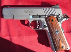 New From Ruger: The SR1911CMD    is represents Ruger's efforts at downsizing. The Commander length version of last years SR1911 is just a bit more compact. But just as well balanced and accurate. While the gun isn't tiny, it is apt to be concealed than a full size 1911. The price on the SR1911CMD is the same as the full sized SR1911: $829.