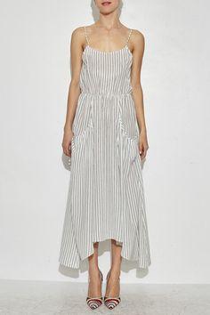 Tank dress--Ulla johnson Railroad Stripe Dress