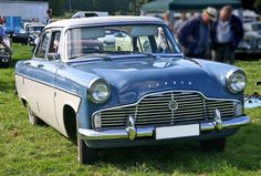 1956/62 Ford Zephyr 206E MKII 4-Door Saloon 2.5L (156ci) Straight Six Cylinder OHV engine