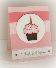 CAS140, Chocolate Cupcake... by bigsky - Cards and Paper Crafts at Splitcoaststampers