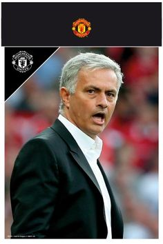 Manchester United Mourinho 17/18 Bagged Photographic Print