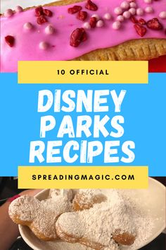 When we can't be in the parks to enjoy these delicious treats, we can can taste a bit of the magic at home with these official Disney Parks recipes #Disney #DisneyParks #recipes #Disneyrecipes #DisneyParksRecipes Disney World Deals, Disney World Facts, Disney Snacks, Disney Food, Walt Disney, Chocolate Shavings, Chocolate Hazelnut, Disney Tips, Disney Recipes