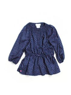 ralph lauren polka dot baby dress - $15