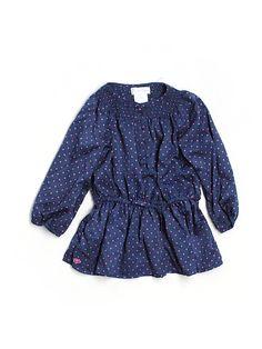 ralph lauren polka dot baby dress - $15