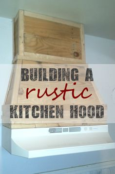 Kitchen Remodeling Project Building a Pallet Kitchen Hood From Pallet Wood by Scrapality ~ shared at Brag About It link party on (Mondays at Midnight)! Rustic Cabinets, Wood Kitchen Cabinets, Kitchen Cabinet Design, Kitchen Redo, Kitchen Ideas, Kitchen Art, Kitchen Designs, Soapstone Kitchen, Kitchen Layouts