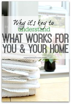 Understanding what works in your home already can be key to getting great organising systems in place for the rest