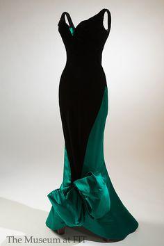 Charles James evening dress ca. 1955