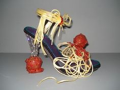Spaghetti Shoes ....  :) wonderful... Robert Tabor's Sole Sensations