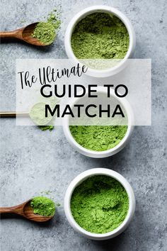 This ultimate guide to matcha tea has all the basics you need to know about matcha green tea! Everything including: what is matcha, what does matcha taste like, matcha health benefits, choosing the best matcha tea, how to make matcha tea and matcha lattes Matcha Health Benefits, Matcha Green Tea Benefits, Best Matcha Tea, What Is Matcha, How To Make Matcha, Green Tea Diet, Ceremonial Grade Matcha, Green Tea Recipes, Green Tea For Weight Loss