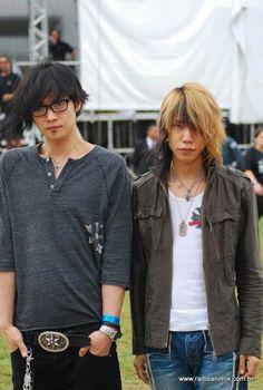 Toshiya and Shinya. Dir en Grey