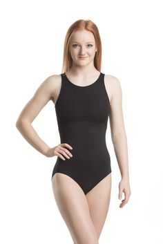 Julie Leotard w/ Mod Dot Fabric This stunning mod design leotard features mod dot textured fabric on top and tactel on the bottom. The front is a tank style with a zip up the back and it is lined in the bodice. You can channel Twiggy or Julie from the Mod Squad!