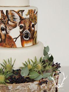 Gallery - Sweet Deer Hand-Painted Cakes