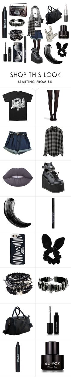 """This is a muthafukin invitation. The only one that you will ever need."" by violenceinsilence ❤ liked on Polyvore featuring SPANX, Rails, Lime Crime, Demonia, Urban Decay, Casetify, Topshop, Marc Jacobs, Yves Saint Laurent and Kenneth Cole"
